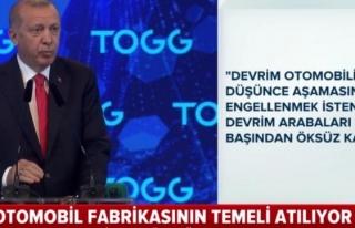 Erdoğan: Türkiye'nin üretmesini hazmedemeyenler...