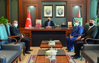 BBP heyetinden, Emniyet Müdürü Aydın'a ziyaret...