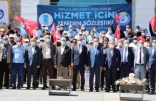 Tuşba Belediyesi'nde toplu iş sözleşmesi...