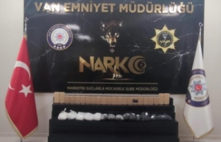 Van'da 24 kilo 790 gram uyuşturucu ele geçirildi