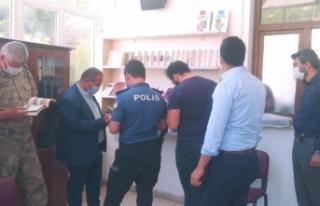 """Bahçesaray'da """"Diyanet Yayınları Satış Bürosu""""..."""