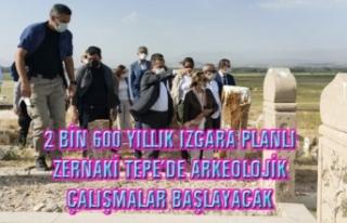 Bakan Yardımcısı, Erciş'te Zernaki Tepe'de...