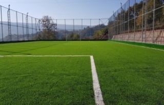 Başkale'ye futbol sahası yapılacak