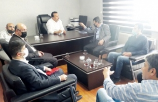 Başkan Türkmenoğlu'ndan VGC'ye ziyaret