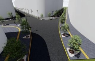 Demirciler Sokak yeni imajına kavuşuyor
