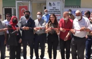 Erciş Bedensel Engelliler Derneği, yeni binasında...