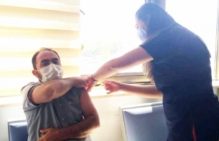 Van'da randevusuz aşı uygulaması başladı