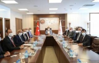 Van heyeti Ankara'daki temaslarını sürdürüyor