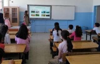 Van'da öğrencilere 'Biyolojik çeşitlilik'...