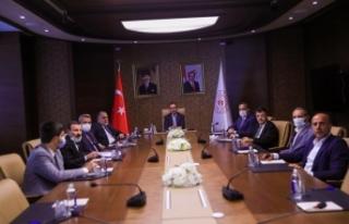Vanspor sorunu Bakan Kasapoğlu'na iletildi
