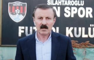 """Yenitürk: """"Vanspor'un güç birliğine..."""
