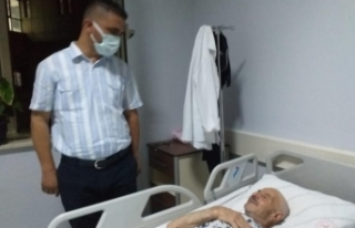 Başkan Ergioğuz'dan hasta ziyareti