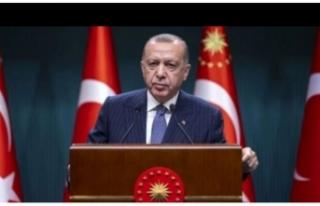 Cumhurbaşkanı Erdoğan'dan emeklilere bayram...