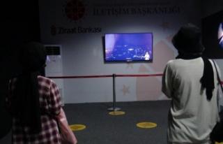 Dijital Sergi Merkezini 20 bin kişi ziyaret etti