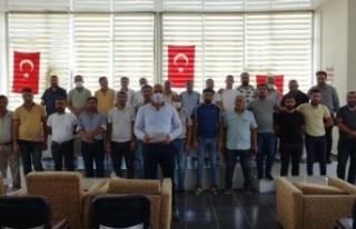 Erciş'te ticari taksi ve minibüslerin yaş sınırı...