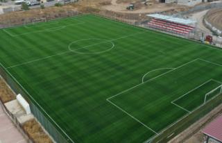 Futbol sahası yapılacak