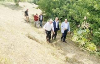 Gevaş'ta tarım arazileri suya kavuşuyor