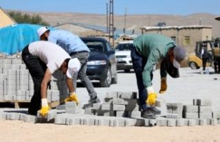 Gürpınar'da 4 mahallede kilitli parke yol yapılacak