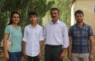Türkiye birincisi Şakar'ın hedefi pilot olmak