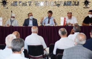Türkmenoğlu: Van'da Ak belediyecilik ile tarih...