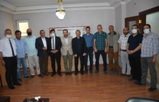 Türkmenoğlu'ndan, Vangölü Gazeteciler Cemiyeti'ne...