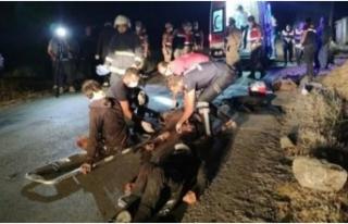 Van'da feci kaza: 12 ölü...