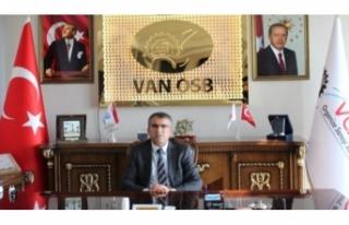 Van OSB Başkanı Aslan'dan, Basın Bayramı...