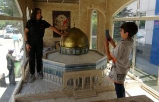 Van'da 'Minia Kudüs' TIR'ına...