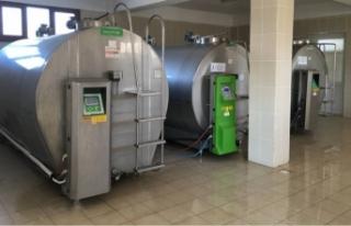 Van'da süt soğutma zinciri araç ve ekipmanları...