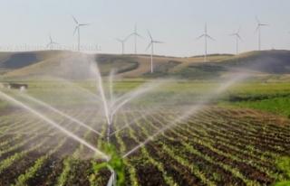 Yağmur sulama sistemi yaptırılacak