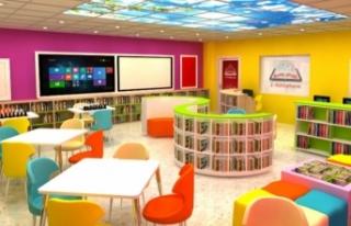 Z kütüphane kurulumu ve donatımı yapılacak