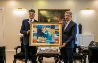 Büyükelçi Mannan'dan Vali Bilmez'e ziyaret
