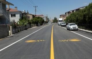 Büyükşehir, Tuşba Sokağı asfaltladı