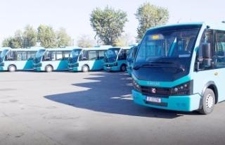Büyükşehir 20 adet halk otobüsü için ihaleye...