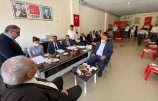 CHP Bahçesaray ilçe başkanlığına Kızıl seçildi
