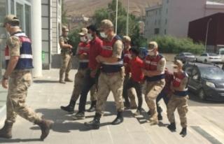 Gevaş'ta 10 kişi gözaltına alındı
