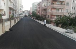 İpekyolu Belediyesi asfalt çalışmalarına hız...