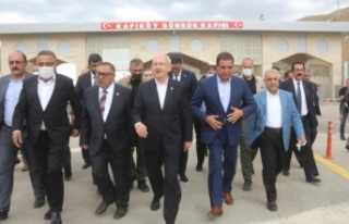 Kılıçdaroğlu, Kapıköy'de incelemelerde bulundu