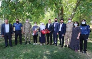 Kaymakam Mehmetbeyoğlu'ndan, şehit ailelerine...