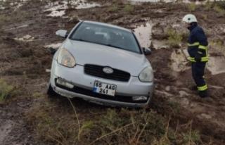 Özalp'ta trafik kazası: 2 yaralı
