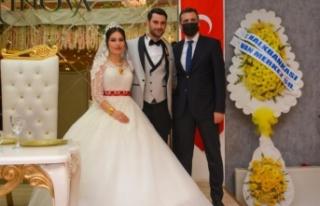 Şehit polis memurunun oğlu dünya evine girdi