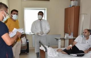 Sünnetçioğlu: Hastanede yatanların yüzde 95'i...