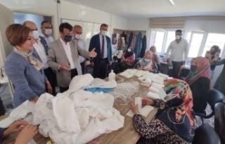 Türkmenoğlu ziyaretlerine devam ediyor