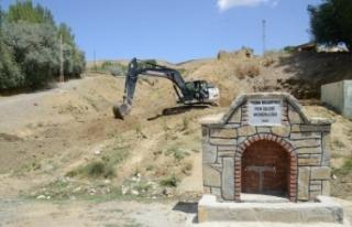 Tuşba Belediyesi'nin 'Eyvanlı Çeşme'...