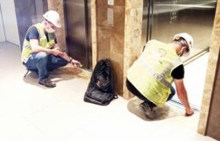 Van'da asansörler kontrol altında…