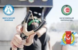 Van'da Filistin'e fotoğraflı destek…