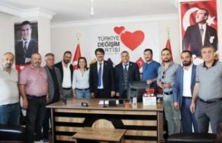 Bayri, yeniden Türkiye Değişim Partisi Van İl...