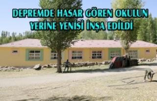 Büyükşehir, Başkale'de okul inşa etti