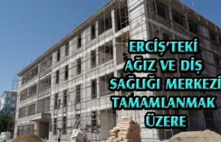 Erciş'teki ağız ve diş sağlığı merkezi...