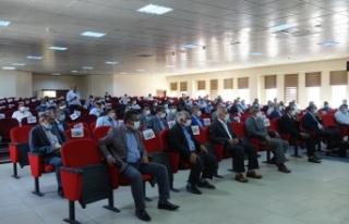 Erciş'te Covid-19 aşı bilgilendirme toplantısı...